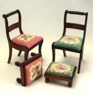 Regency Chair & Stool