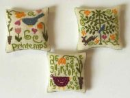 Multicoloured Cushions