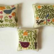 Multicoloured Cushions