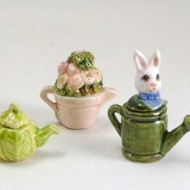 Garden Themed Teapots
