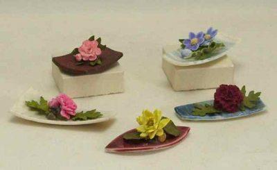 Oriental flower arrangements