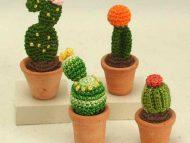 Crochet Cactus plants