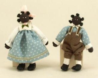 Coloured dolls