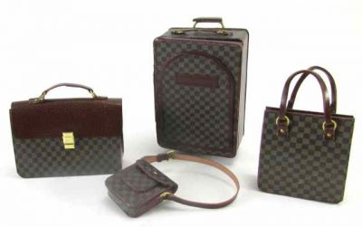 Designer luggage set