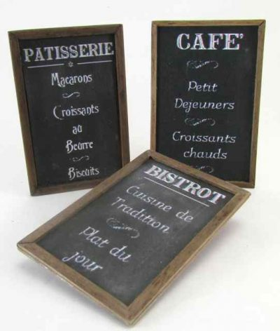 Cafe Blackboards
