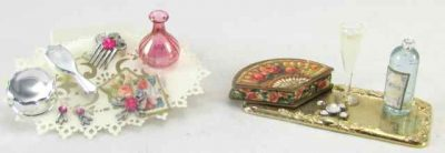 Small dressing table set