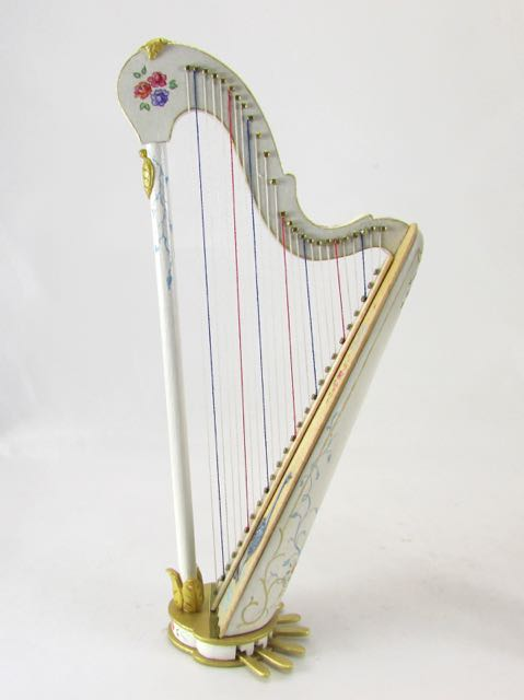 Painted harps